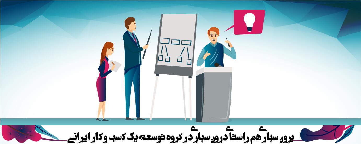 اساس تفکرات گروه توسعه یک کسب و کار ایرانی (2)