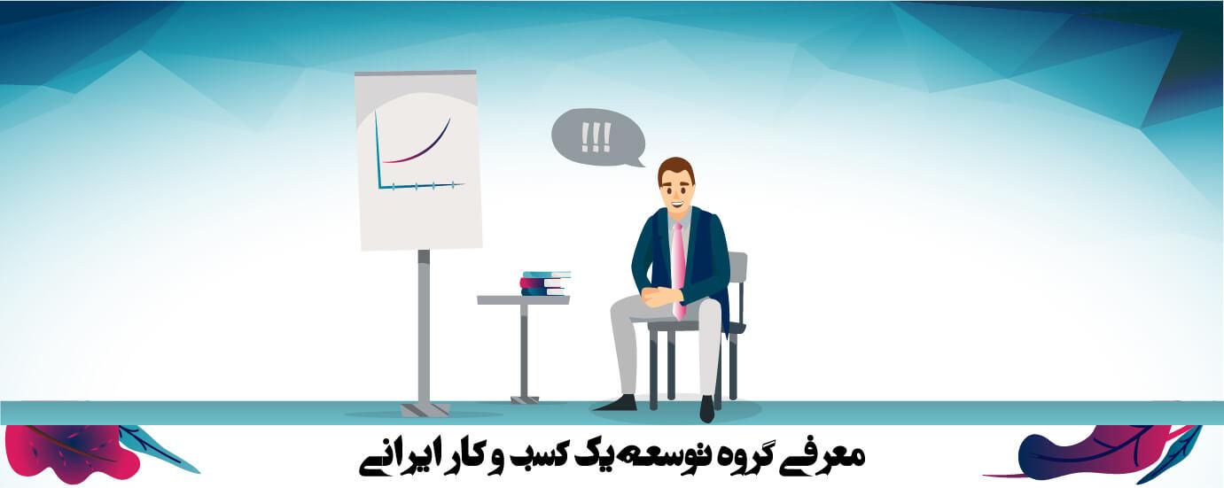 معرفی گروه توسعه یک کسب و کار ایرانی (2)